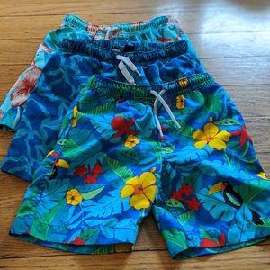Lands End boys bathing suits
